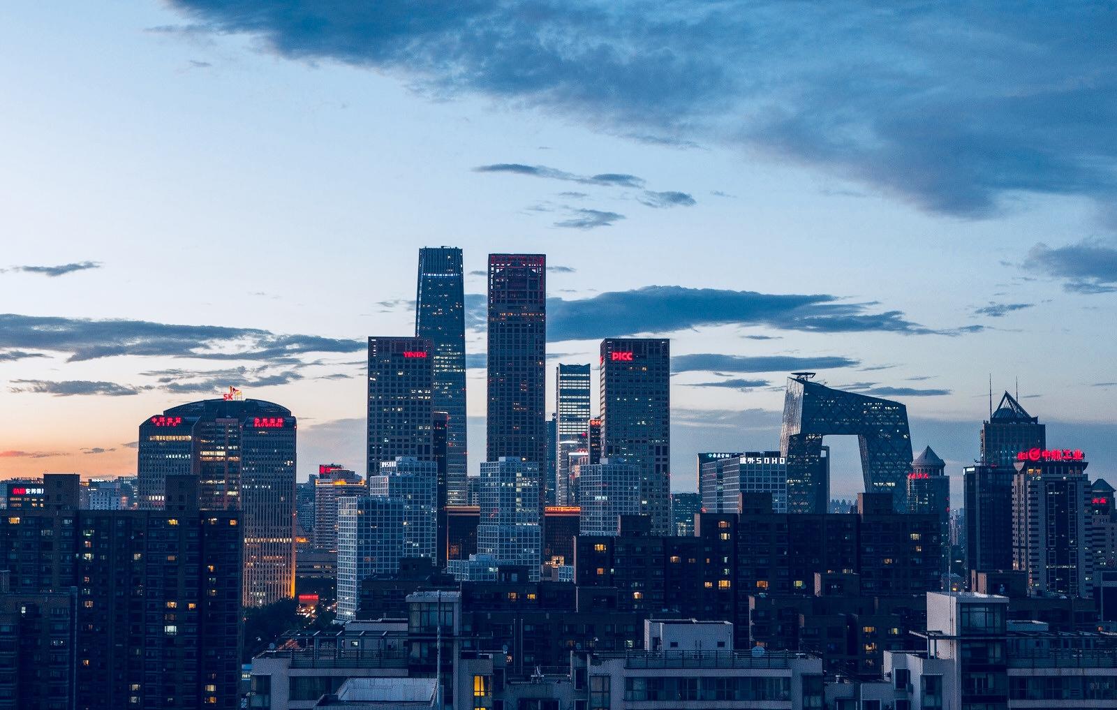 北京市夜景